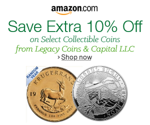 Buy coins at Amazon