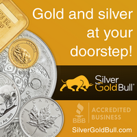 Silver and Gold at your doorstep! SilverGoldBull