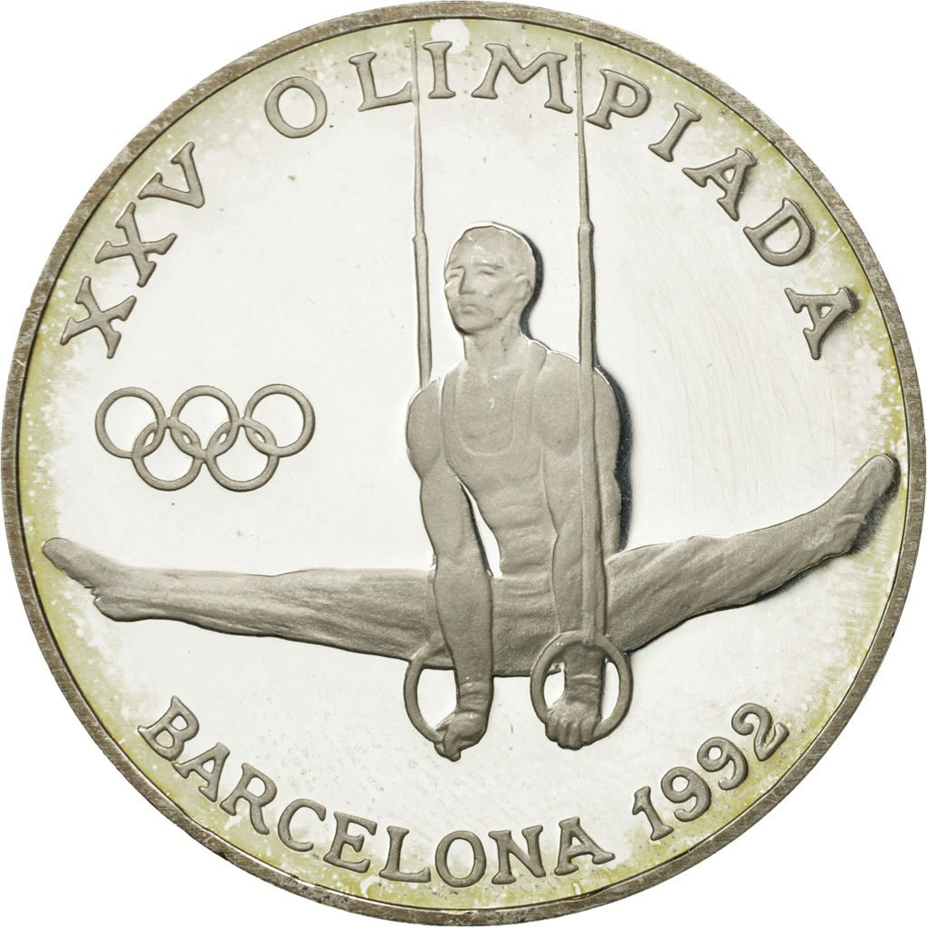 Twenty Diners 1988 Gymnastics: Photo Coin, Andorra, Twenty Diners 1988 Gymnastics