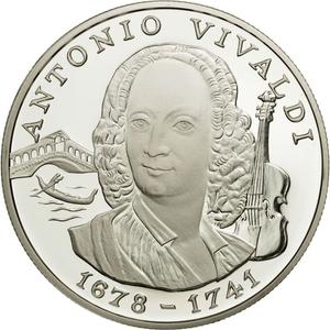 Andorra / Ten Diners 1997 Vivaldi - obverse photo