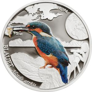 Andorra / Five Diners 2014 European Kingfisher - reverse photo