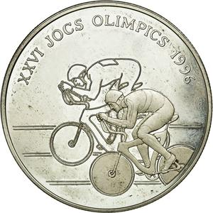 Andorra / Twenty Diners 1994 Cycling - obverse photo