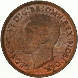 Australia / Halfpenny 1951 - obverse photo