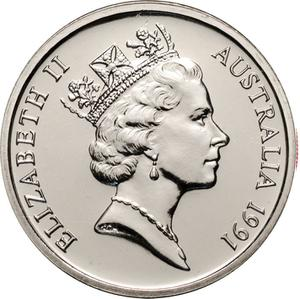 Australia / Ten Cents 1991 - obverse photo