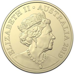 Australia / Two Dollars 2019 (Fifth Portrait) - obverse photo