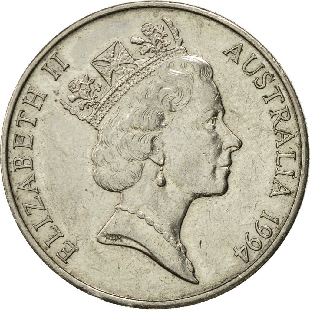 Twenty Cents 1994: Photo Coin, Australia, Elizabeth II, 20 Cents, 1994
