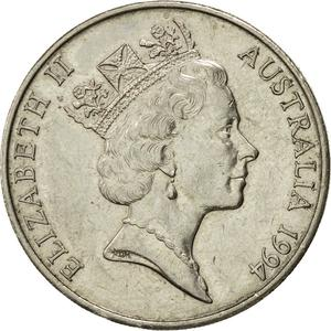 Australia / Twenty Cents 1994 - obverse photo