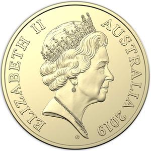 Australia / One Dollar 2019 (Gottwald Portrait) - obverse photo
