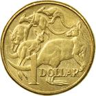Australia / One Dollar 2014 - reverse photo
