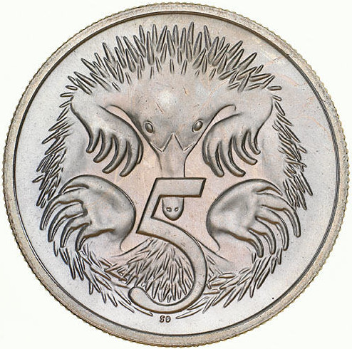 Five Cents 1983: Photo Coin - 5 Cents, Australia, 1983