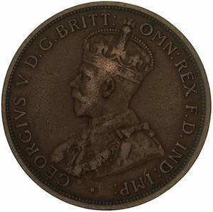 Australia / Penny 1915 - obverse photo