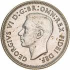 Sixpence 1950: Photo Proof Coin - Sixpence, Australia, 1950