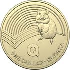 Australia / One Dollar 2019 Q - Quokka - reverse photo