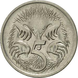 Australia / Five Cents 1996 - reverse photo