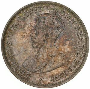 Australia / Threepence 1915 - obverse photo