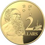 Australia / Two Dollars 2005 / Gold Proof FDC - reverse photo