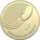 Australia / One Dollar 2019 F - Footy - reverse photo