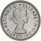 Australia / Sixpence 1961 - obverse photo