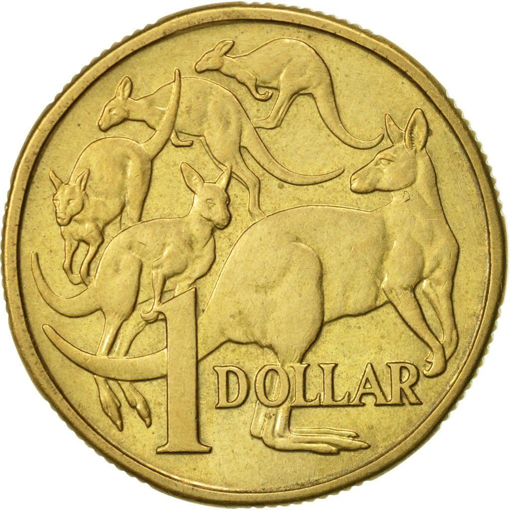 One Dollar: Photo Australia, Elizabeth II, Dollar, 1984