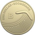 Australia / One Dollar 2019 B - Boomerang - reverse photo