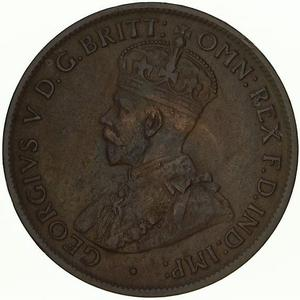 Australia / Halfpenny 1913 - obverse photo