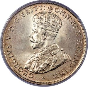 Australia / Florin 1924 - obverse photo
