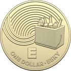 Australia / One Dollar 2019 E - Esky - reverse photo