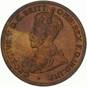 Australia / Halfpenny 1921 - obverse photo