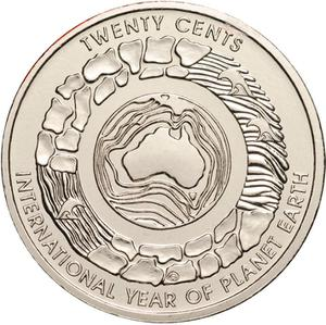 Australia / Twenty Cents (NCLT) - reverse photo
