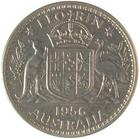 Australia / Florin 1956 / Proof - reverse photo