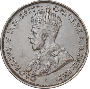 Australia / Penny 1931 - obverse photo