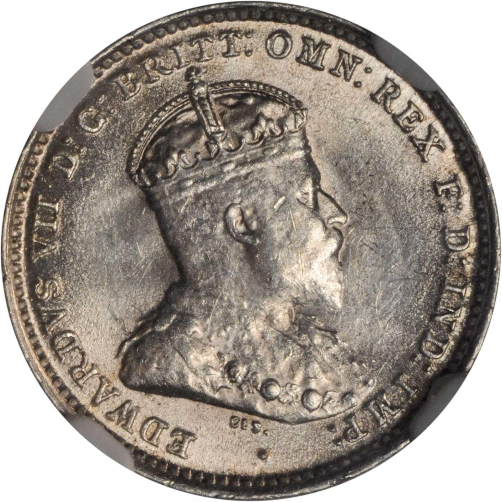 Threepence: Photo Australia 1910 3 pence