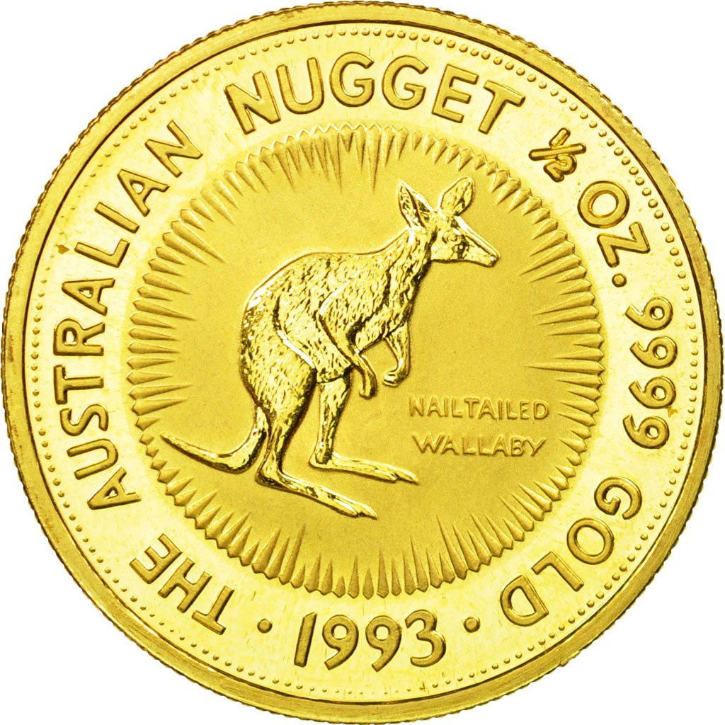 Gold Half Ounce 1993: Photo Coin, Australia, Gold Half Ounce 1993