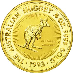 Australia / Gold Half Ounce 1993 - obverse photo