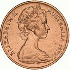 Australia / One Cent 1972 - obverse photo