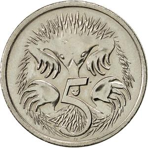 Australia / Five Cents 2006 - reverse photo