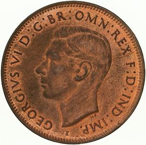 Australia / Halfpenny 1942 - obverse photo