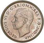 Sixpence 1938: Photo Proof Coin - Sixpence, Australia, 1938
