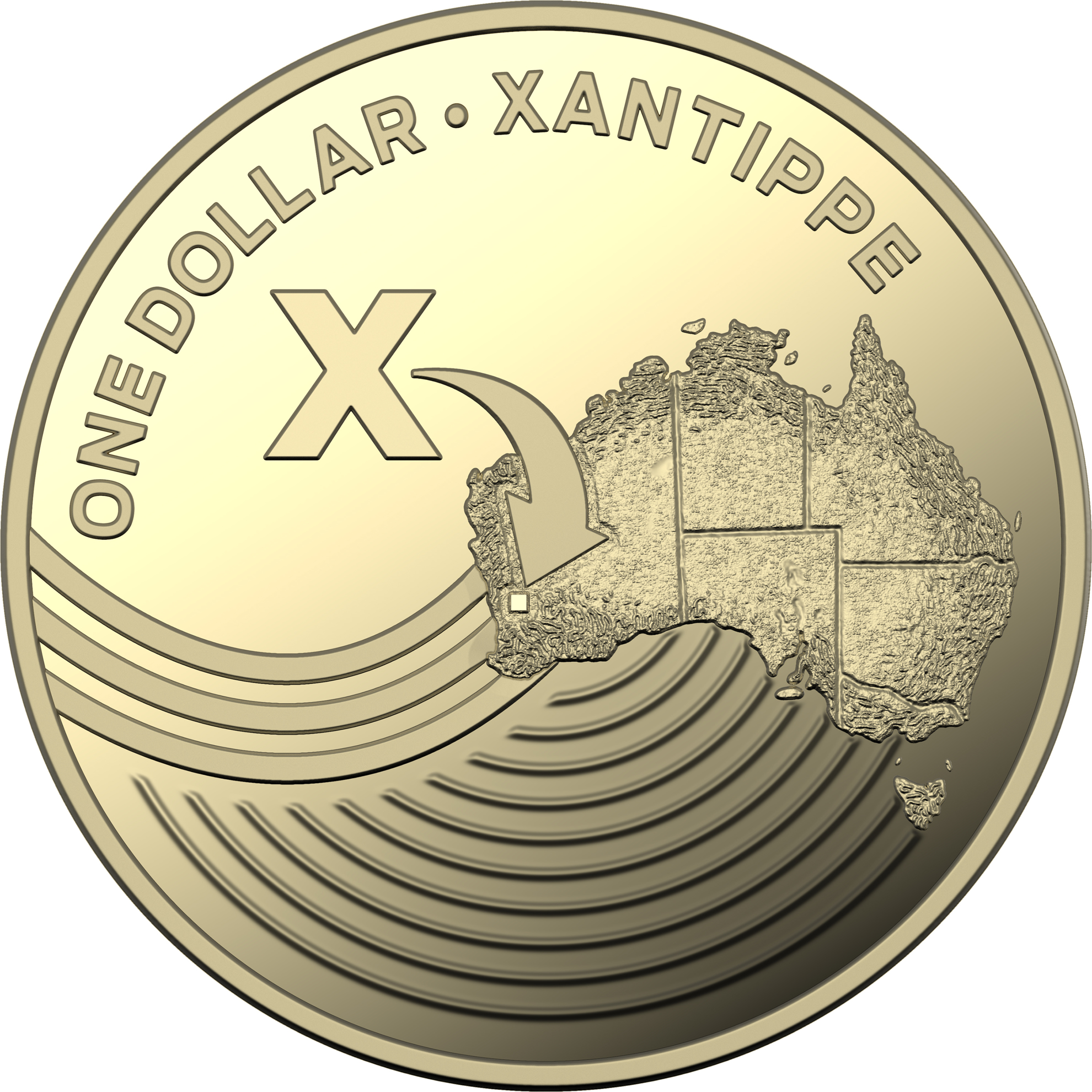 One Dollar 2019 X - Xantippe: Photo 2019 $1 Proof Coin Collection - Xantippe
