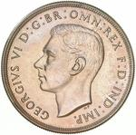 Crown 1938: Photo Proof Coin - Crown (5 Shillings), Australia, 1938