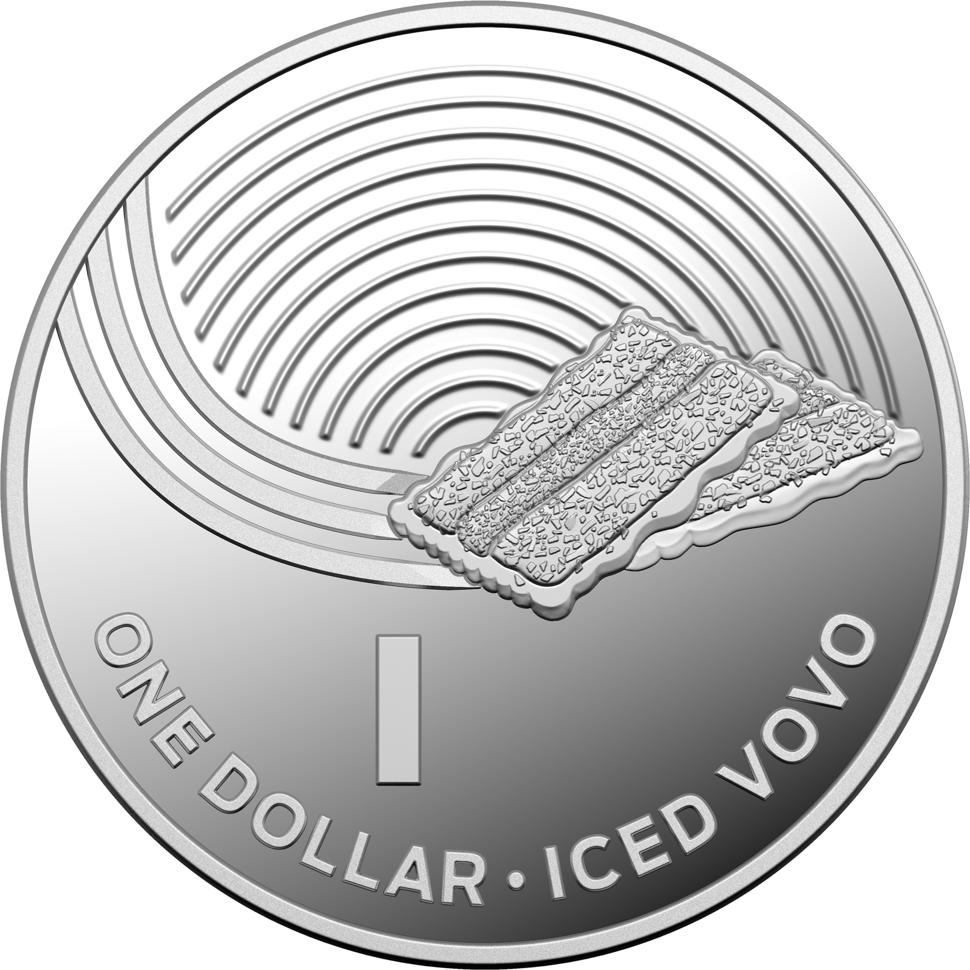 One Dollar 2019 I - Iced Vovo: Photo 2019 $1 Silver Proof Coin Collection - Iced Vovo
