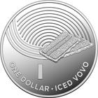Australia / One Dollar 2019 I - Iced Vovo / Silver Proof FDC - reverse photo