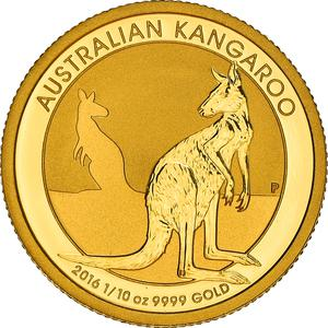 Australia / Gold Tenth Ounce 2016 - reverse photo