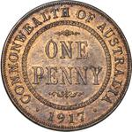 Penny 1917: Photo Coin - 1 Penny, Australia, 1917