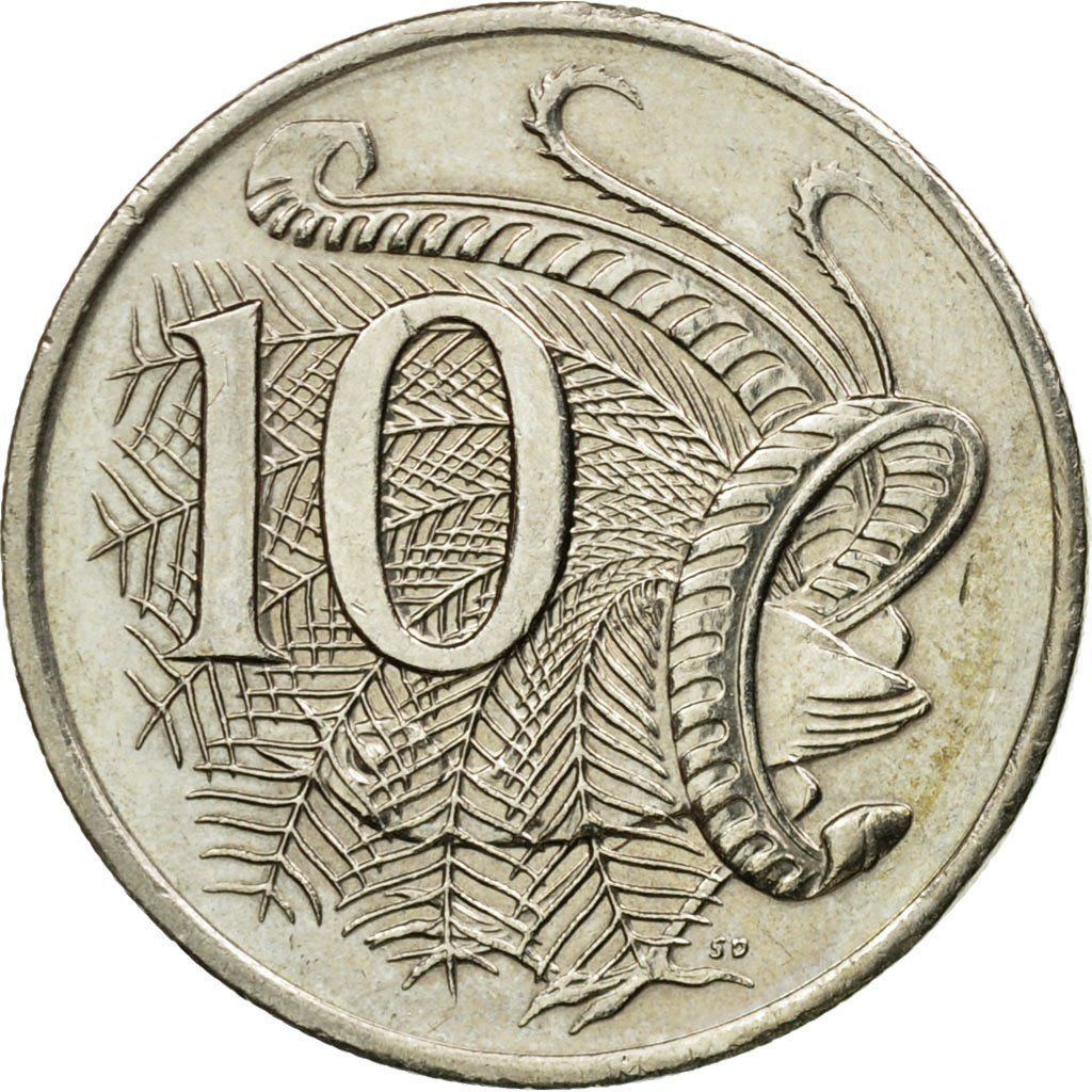 Ten Cents 2007: Photo Coin, Australia, Elizabeth II, 10 Cents, 2007