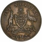 Shilling 1912: Photo Coin - 1 Shilling, Australia, 1912