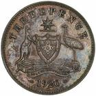 Threepence 1920: Photo Coin - Threepence, Australia, 1920