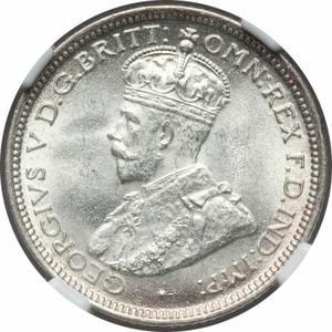 Australia / Sixpence 1921 - obverse photo