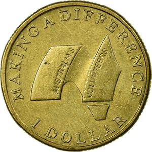 Australia / One Dollar 2003 Volunteers - reverse photo