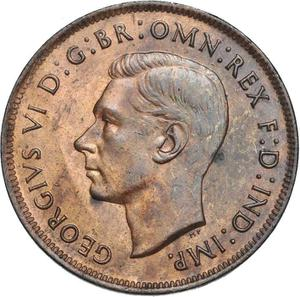 Australia / Penny 1938 - obverse photo